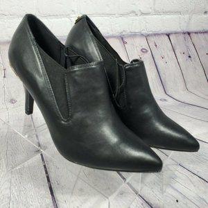 Anne Klein Women's Black Yadira Ankle Booties